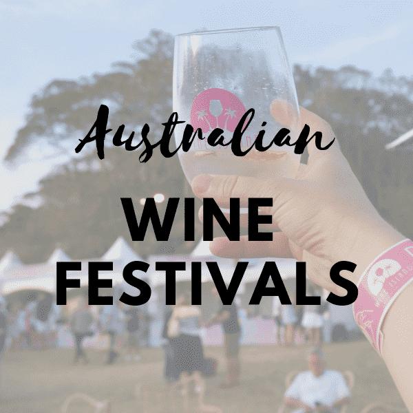 australian wine festivals
