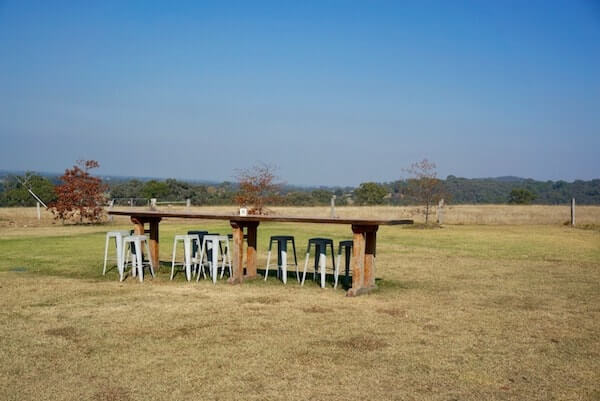 Blue Gables Winery - Outdoor Seating - Gippsland Wine