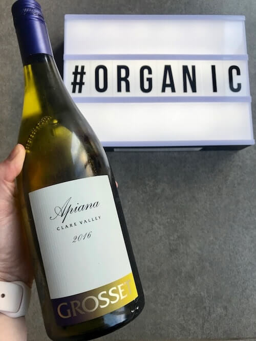 Grosset Wines 2016 Apiana Organic White Wine from the Clare Valley