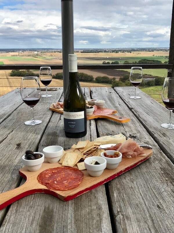 An afternoon at Lightfoot and Sons winery in Gippsland
