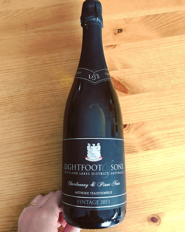 Lightfoot and Sons 2011 Sparkling Wine