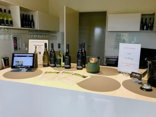 Inside the Tambo Winery Cellar Door in Gippsland