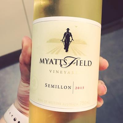 MyattsField Vineyard 2015 Semillon Perth Hills