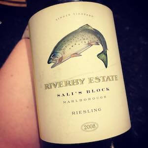 Riverby Estate Sal's Block 2008 Riesling Marlborough