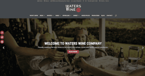 Buy wine online at Waters Wine Co Website