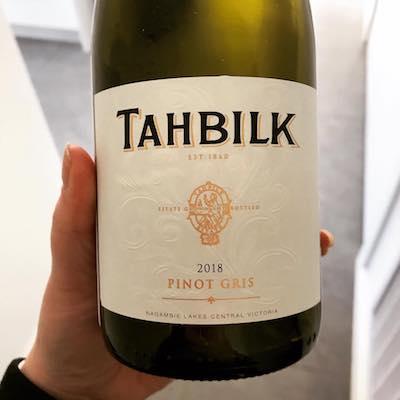 Tahbilk 2018 Pinot Gris