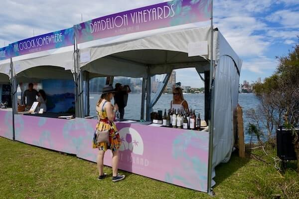 Dandelion Vineyards - Wine Island Sydney