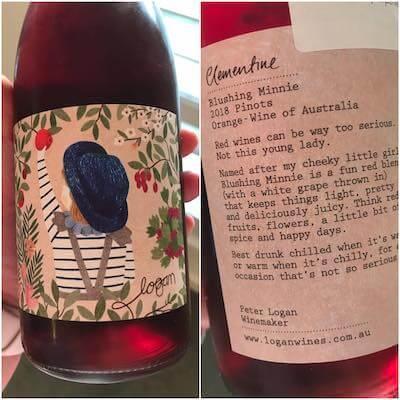 Logan Wines Clementine Blushing Minnie Pinots 2018