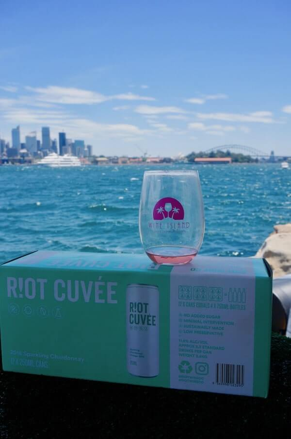 Riot Wine Co Cuvee Wine In A Can - Wine Island Sydney