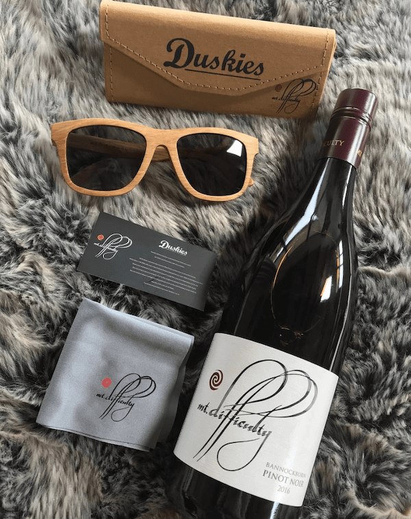Wine Sunglasses - Mt Difficulty Duskies - Travelling Corkscrew