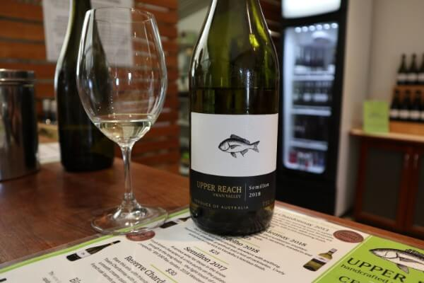 glass-and-bottle-of-semillon-at-upper-reach-winery-swan-valley