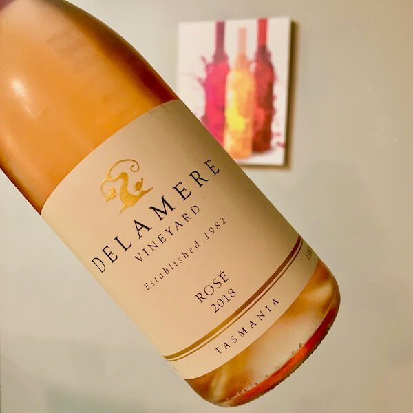 Delamere Vineyard 2018 Pinot Noir Rose - Tasmania