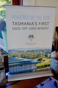 Tasmania's first off the grid winery - Moores Hill
