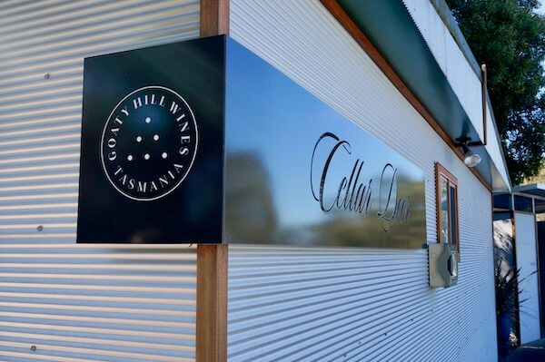 Goaty Hill Wines Cellar Door - Tamar Valley Tasmania