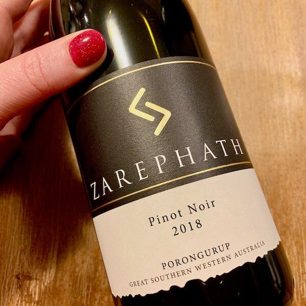 Zarephath 2018 Pinot Noir Porongurup Great Southern