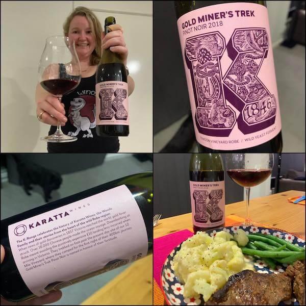 Karatta Wines Gold Miner's Trek 2018 Pinot Noir