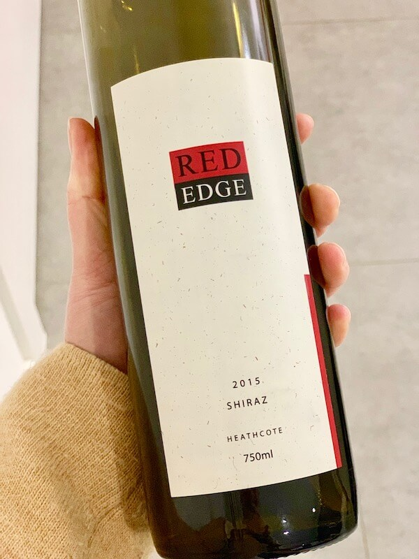 Red Edge Wines 2015 Shiraz - Heathcote
