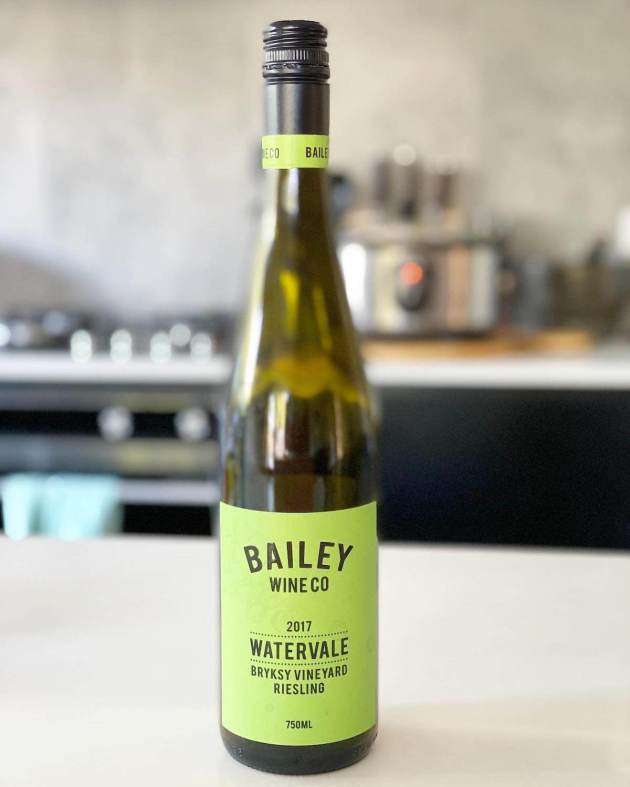 Bailey Wine Co 2017 Watervale Bryksy Vineyard Riesling