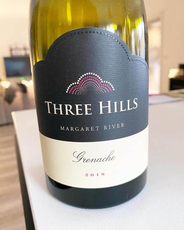 Happs Three Hills 2018 Grenache - Margaret River