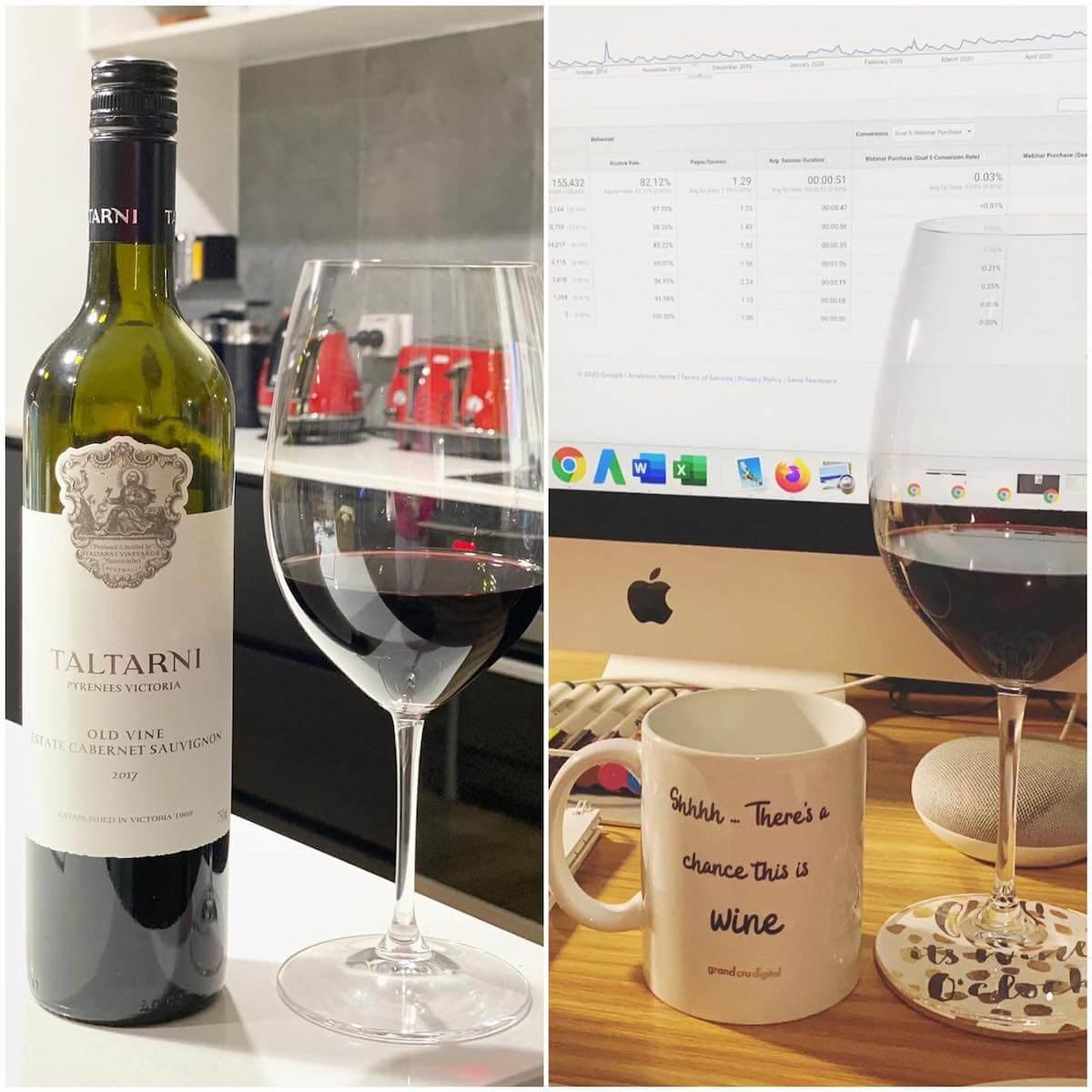 Taltarni 2017 Old Vine Estate Cabernet Sauvignon