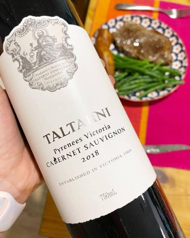 Taltarni Vineyards Pyrenees 2018 Cabernet Sauvignon