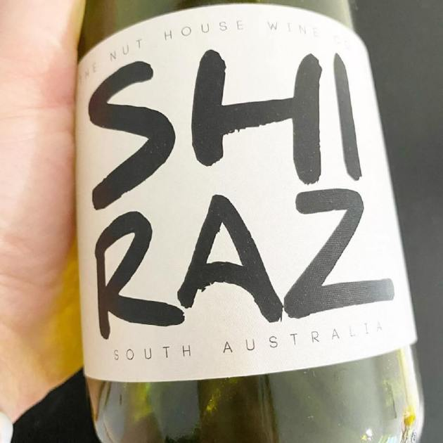 The Nut House Wine Co Shiraz.