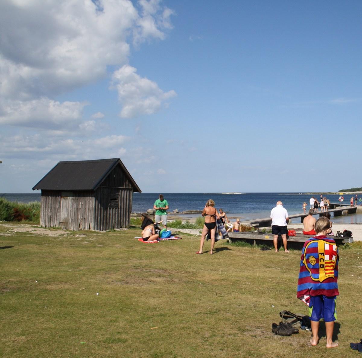 gotland beach