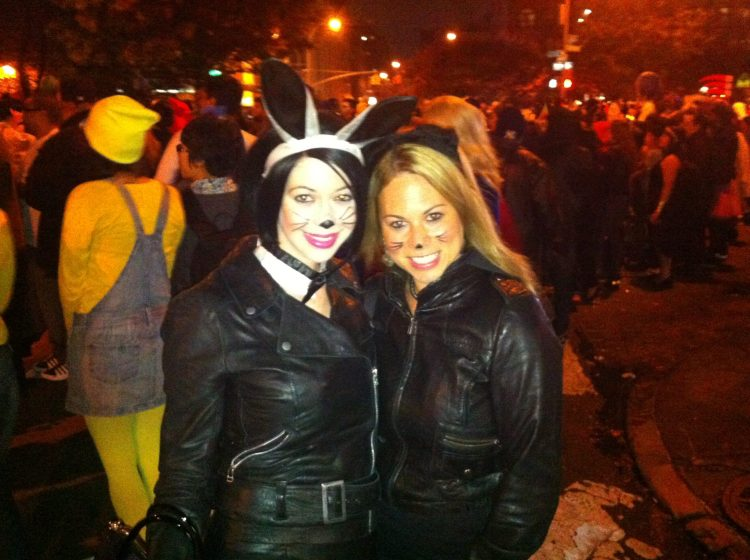 Halloween 2013 - A few days after I had arrived in NYC for this chapter!