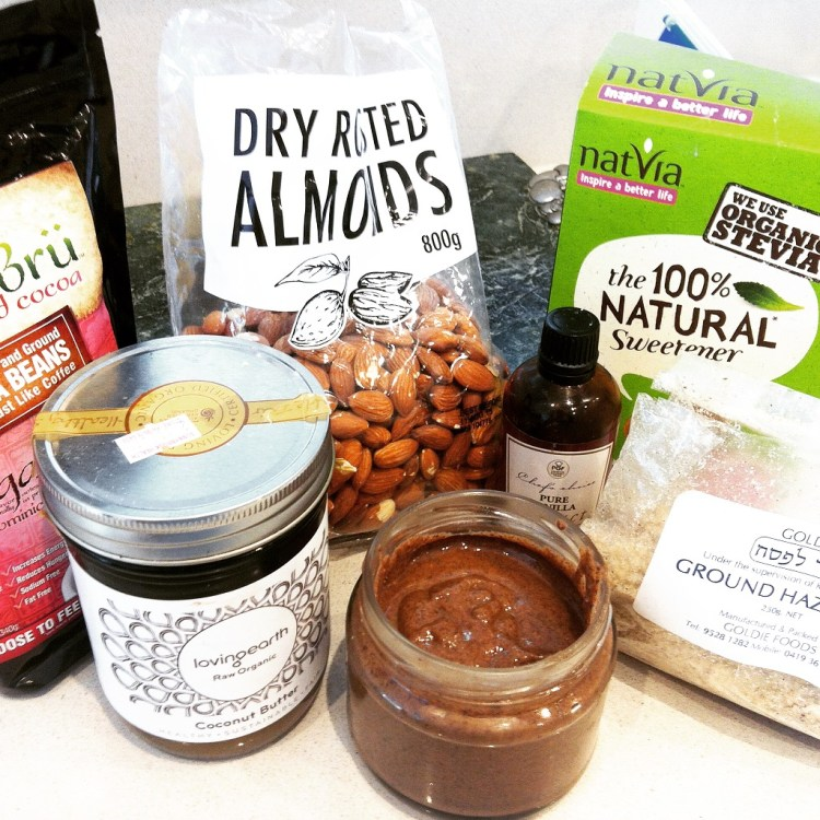sugar free nutella by Kara Landau Travelling Dietitian