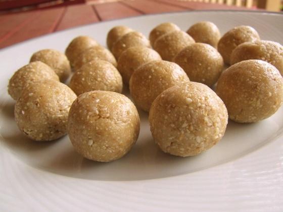 vegan raw anzac biscuit truffle