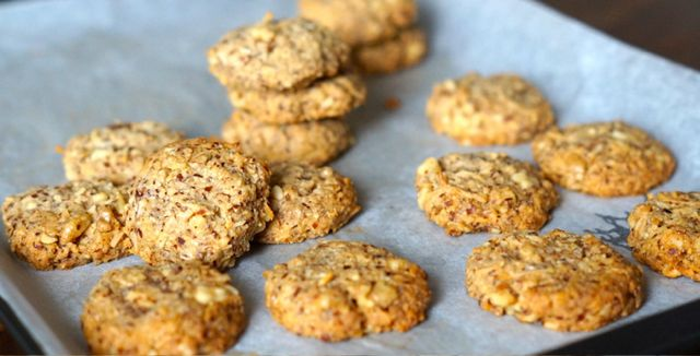 paleo anzac cookies