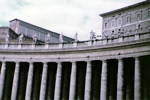 paseo por el vaticano