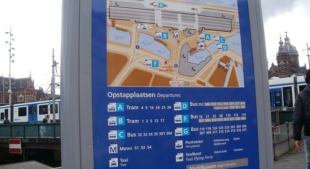 5 aplicaciones de transporte público