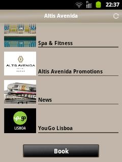 captura menu app altis android
