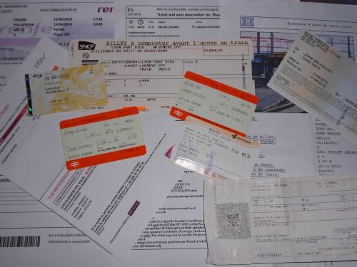 billetes de tren