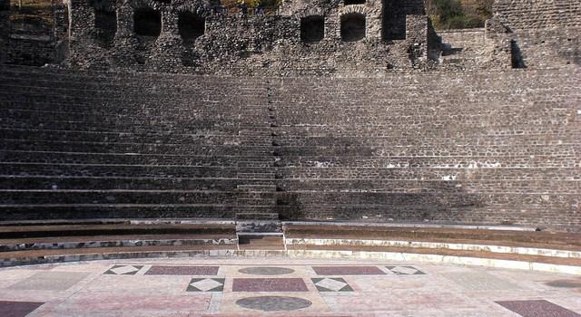 El sitio Galo Romano de Lyon, un museo al aire libre