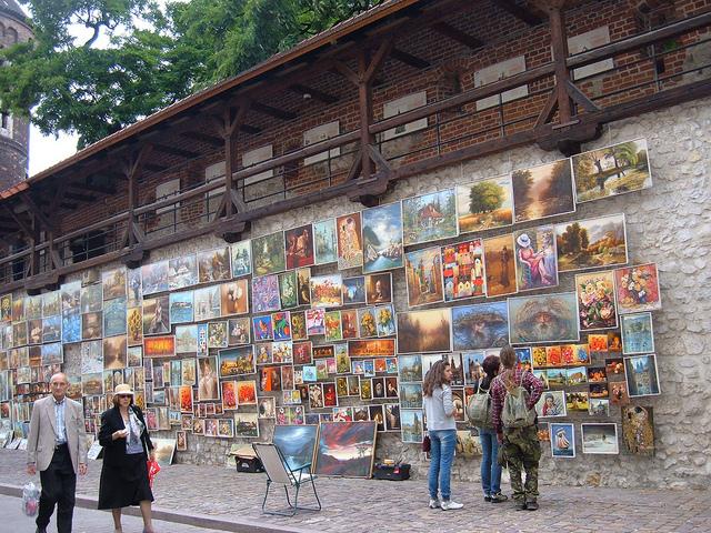 OpenSkyGallery Galeria Obrazów pod Bramą Floriańską w Krakowie, Cracovia