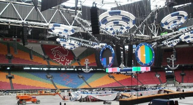 Visita al Amsterdam Arena, estadio del Ajax