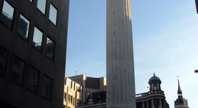 ¿A qué es monumento, The Monument en Londres?
