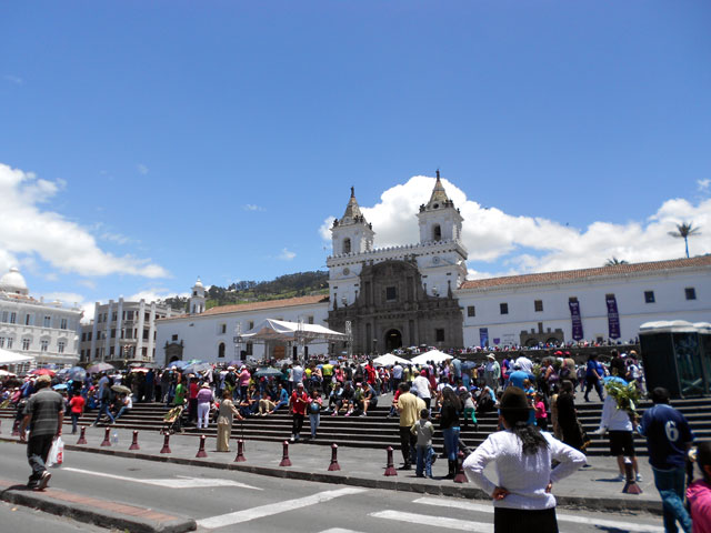 Plaza de San Francisco, Quito