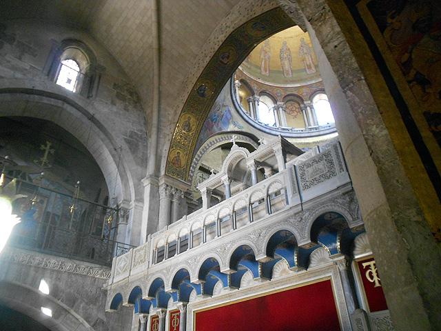Basílica Santo Sepulcro, Jerusalén