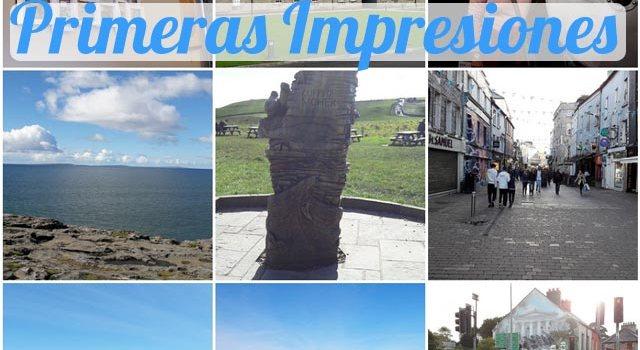 Primeras Impresiones de Irlanda 2016