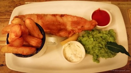 Fish and chips tradizionale