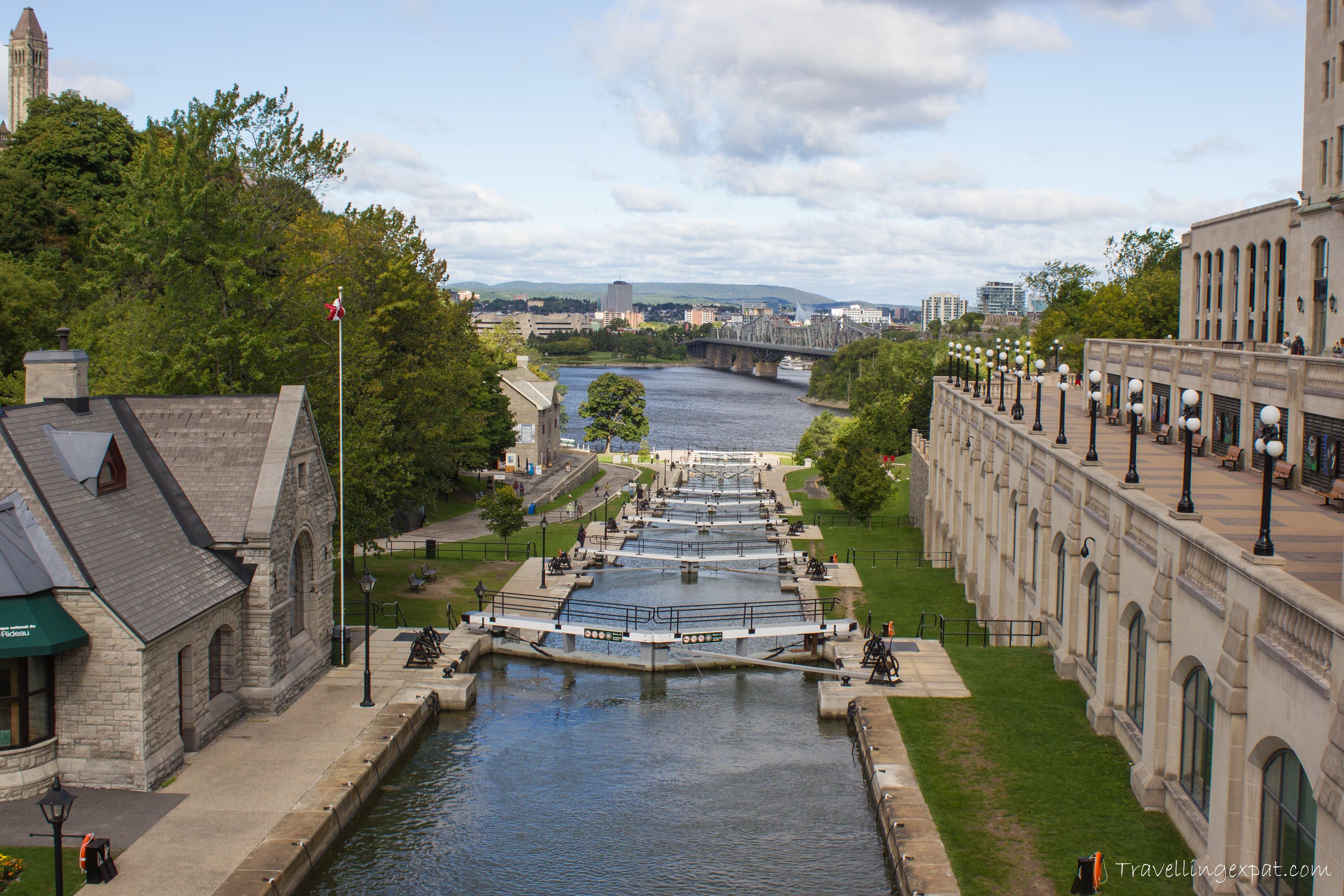 Canal Rideau, patrimonio dell'UNESCO