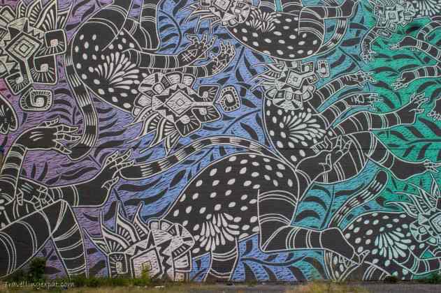 Graffiti a Montréal