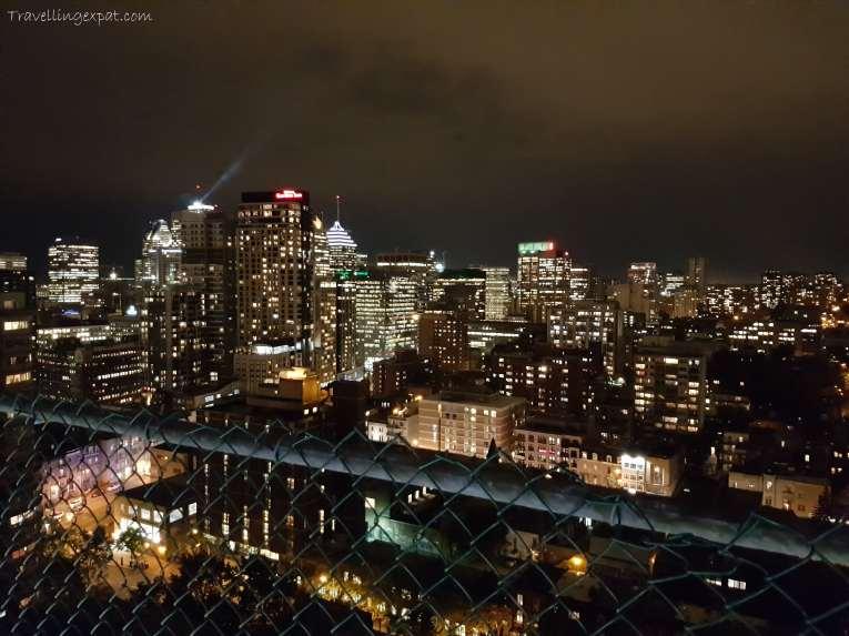 Montréal di notte