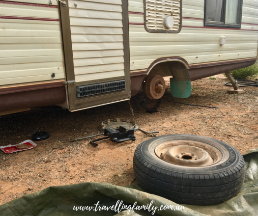 reality of travelling Australia in a caravan