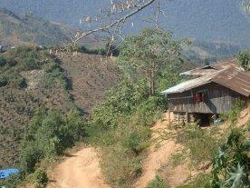 Palaung village