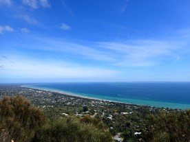 View of Port Philip Bay from Arthur's Seat