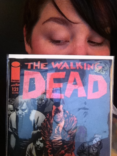 The comic I won from Review and Replay.